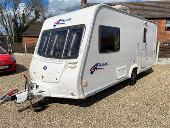 2008 Bailey Pageant Monarch 2 Berth Acle
