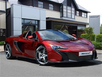 Mclaren 650s Peterborough